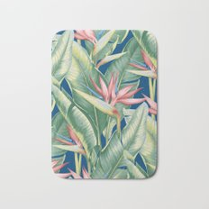 Flowers Birds of Paradise Bath Mat