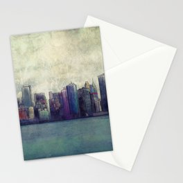 A City In Limbo Stationery Cards