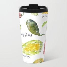 Anna's vegetable market Travel Mug