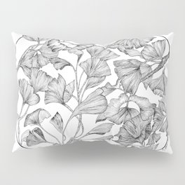 Gingko biloba Pillow Sham