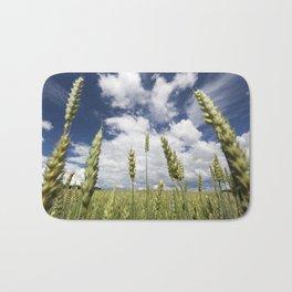 young wheat Bath Mat