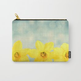 Spring Yellow Carry-All Pouch