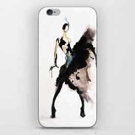 Dripping With Ink iPhone Skin