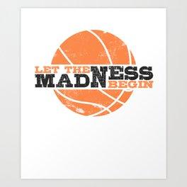 madness 2020 college basketball finals Art Print
