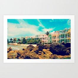 Bahamas  Art Print