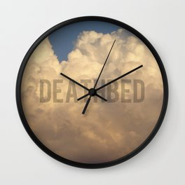 deathbed Wall Clock