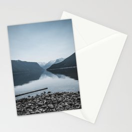 Lake Minnewanka Beach Stationery Cards