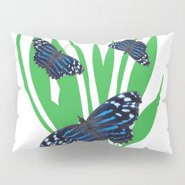 Mexican Bluewing Butterflies Pillow Sham