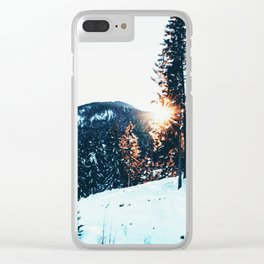 WINTER ADVENTURE Clear iPhone Case