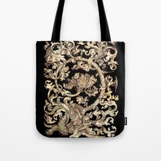 Mother Of Pearl Owl And Birds Tote Bag