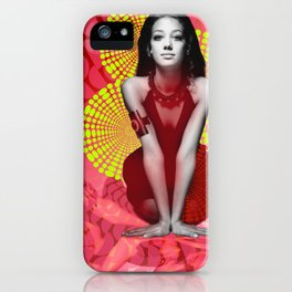 Supermodel Marisa 2 - Supermodels of the Sixties Series iPhone Case