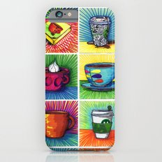The Daily Coffee Poster Slim Case iPhone 6s