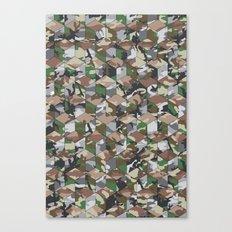 CUBOUFLAGE MULTI (medium) Canvas Print