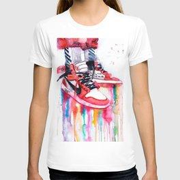 Jordan Sneakers poster T-shirt