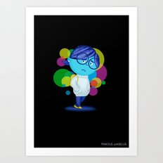 Inside Out Sadness Art Print