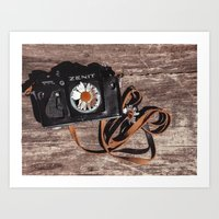 photographer Art Prints featuring photographer by Olga FoxFang