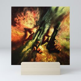 The Sandstorm Saints Mini Art Print