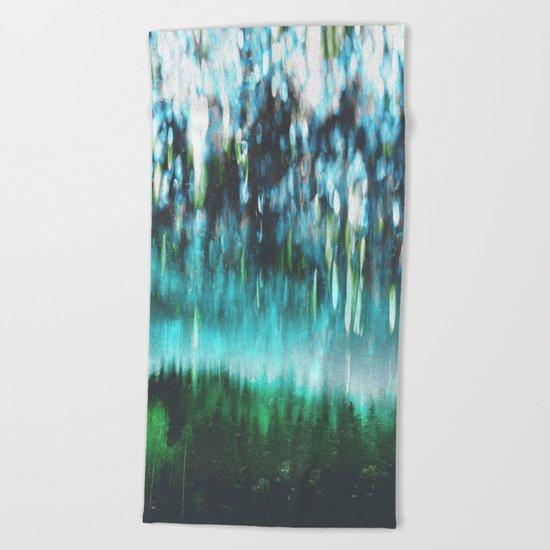 Acid dreams Beach Towel