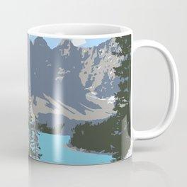 Moraine Lake- A Mountain Landscape Dream Coffee Mug