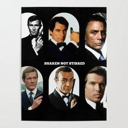 007 Meet 007 & 007 & 007, 007 Bond Poster