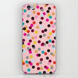 Confetti #3 iPhone Skin