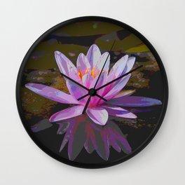 WaterLily20151001 Wall Clock