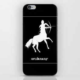 Sagittarius ~ Arcitenens ~ Zodiac series iPhone Skin