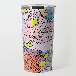 Lost in aquatic thoughts by 12fv Travel Mug