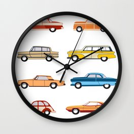 Retro old car Wall Clock