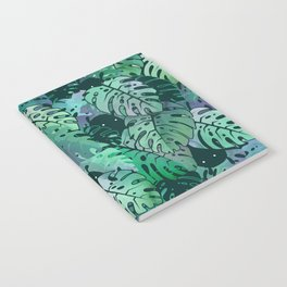 Monstera Monsters Notebook