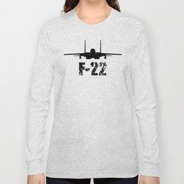 F-22 RAPTOR Long Sleeve T-shirt