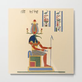 Thoth Metal Print