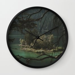 Framed by Nature - Landscape Photography Wall Clock