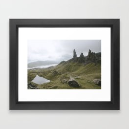 The Old Man of Storr - Landscape Photography Framed Art Print