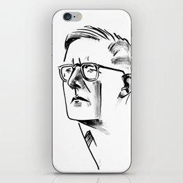 Shostakovich iPhone Skin