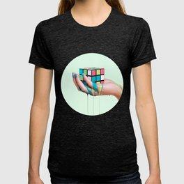 MELTING RUBIKS CUBE T-shirt