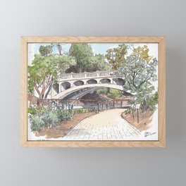 Arboretum Bridge, UC Davis Framed Mini Art Print