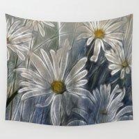 daisy Wall Tapestries featuring Daisy by Imagevixen