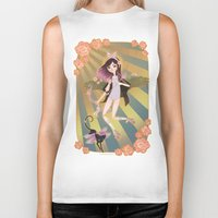angel wings Biker Tanks featuring Angel by ♡ SUSHICORE ♡
