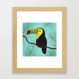 Keel-Billed Toucan Framed Art Print