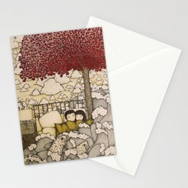 swept away & stranded Stationery Cards