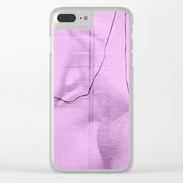 COMMUNICATIONS Clear iPhone Case