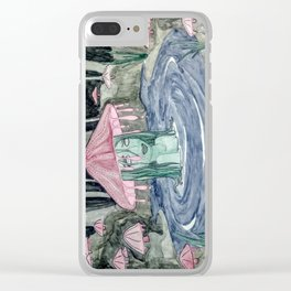pond goo Clear iPhone Case