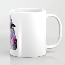 Galaxy Heart Coffee Mug
