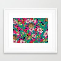 fruit Framed Art Prints featuring FRUIT by KIMENTE
