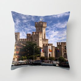 Scaliger Castle Throw Pillow