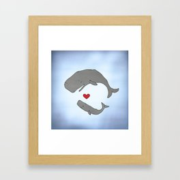Big Love Framed Art Print