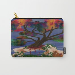 wooden Carry-All Pouch