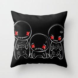 Zu-Gai-Kotsu Throw Pillow