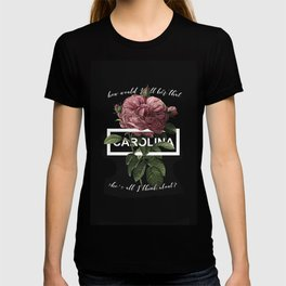 Harry Styles Carolina graphic artwork T-shirt